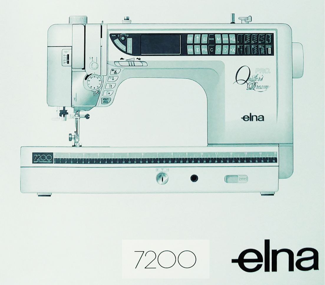 Elna 7200 Workshop Service & Repair Manual