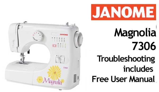 janome 7306 sewing machine