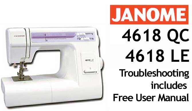 Troubleshooting Janome 40 QC 40 LE Purchase This Troubleshooting Simple Janome Hello Kitty Sewing Machine Instruction Manual