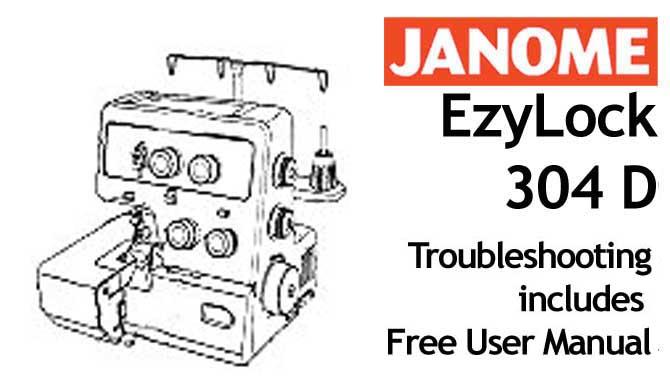 janome decor excel pro 5124 instruction manual