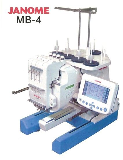Janome Embroidery Machine MB-4 Workshop Service & Repair Manual