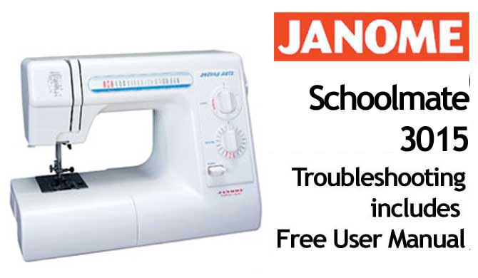 janome sewing machine problems