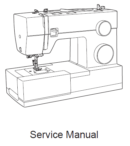 Singer Heavy Duty Series Service Manual