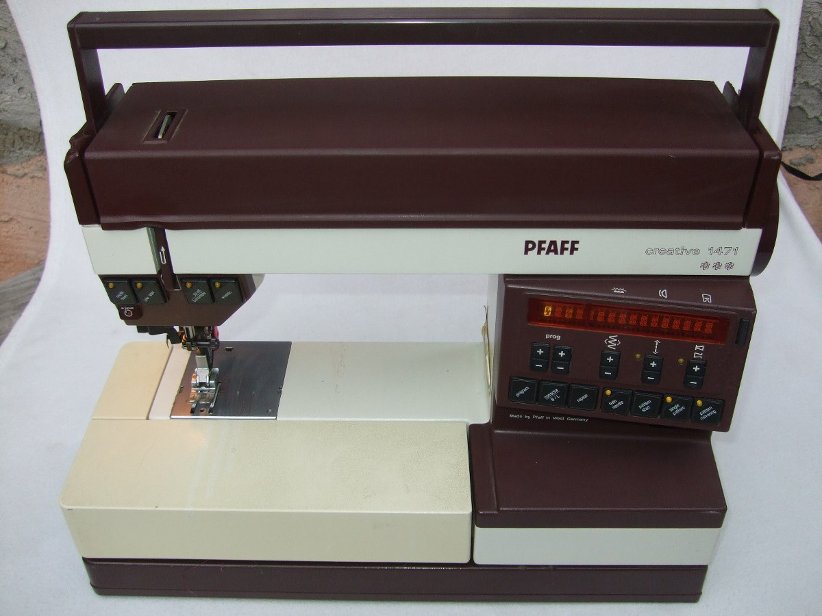 PFAFF Model Creative 1471 sewing machine Users Manual